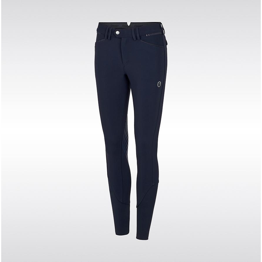 Ladies Mathilde Knee Patch Breech (Navy)