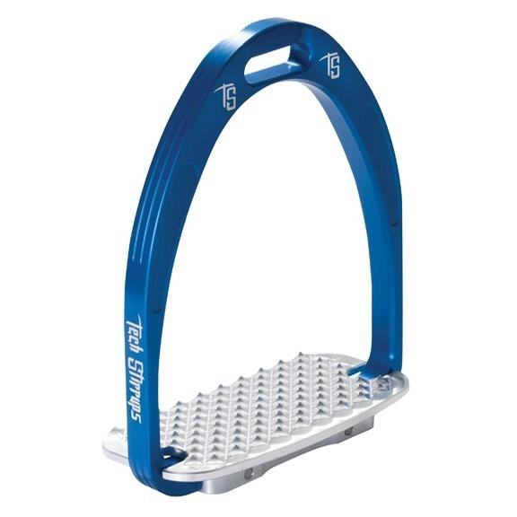 Tech Athena Stirrup Iron (Blue)