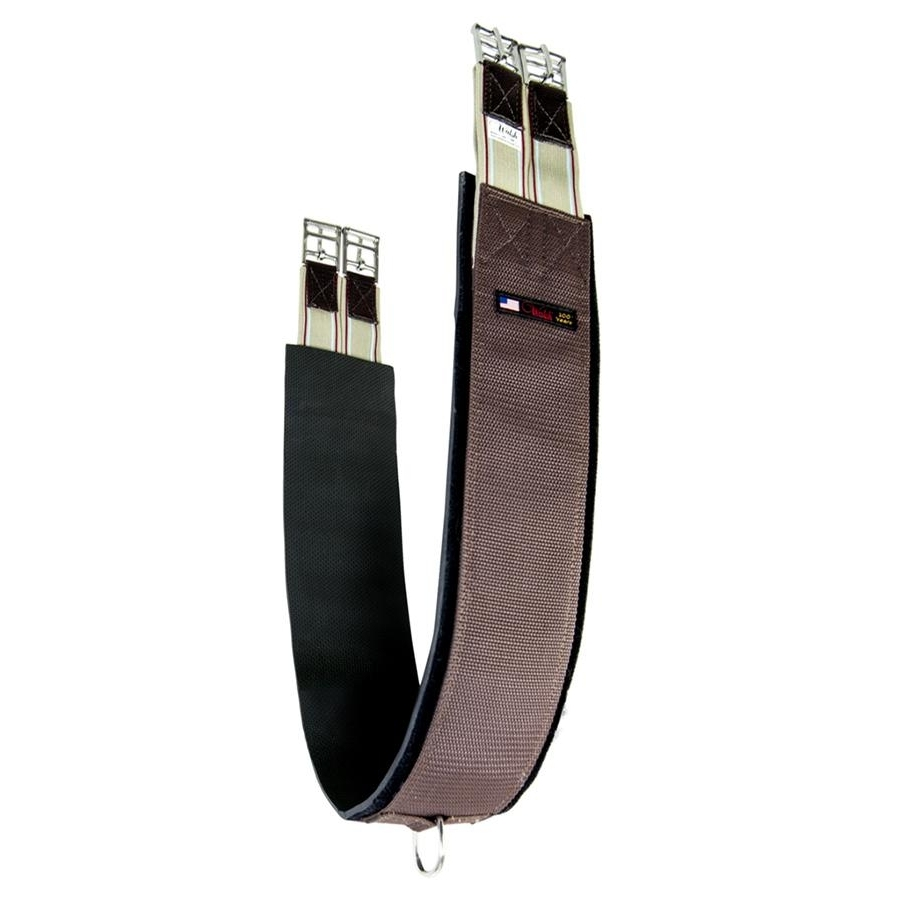 Synthetic Neoprene Straight Girth (Brown)