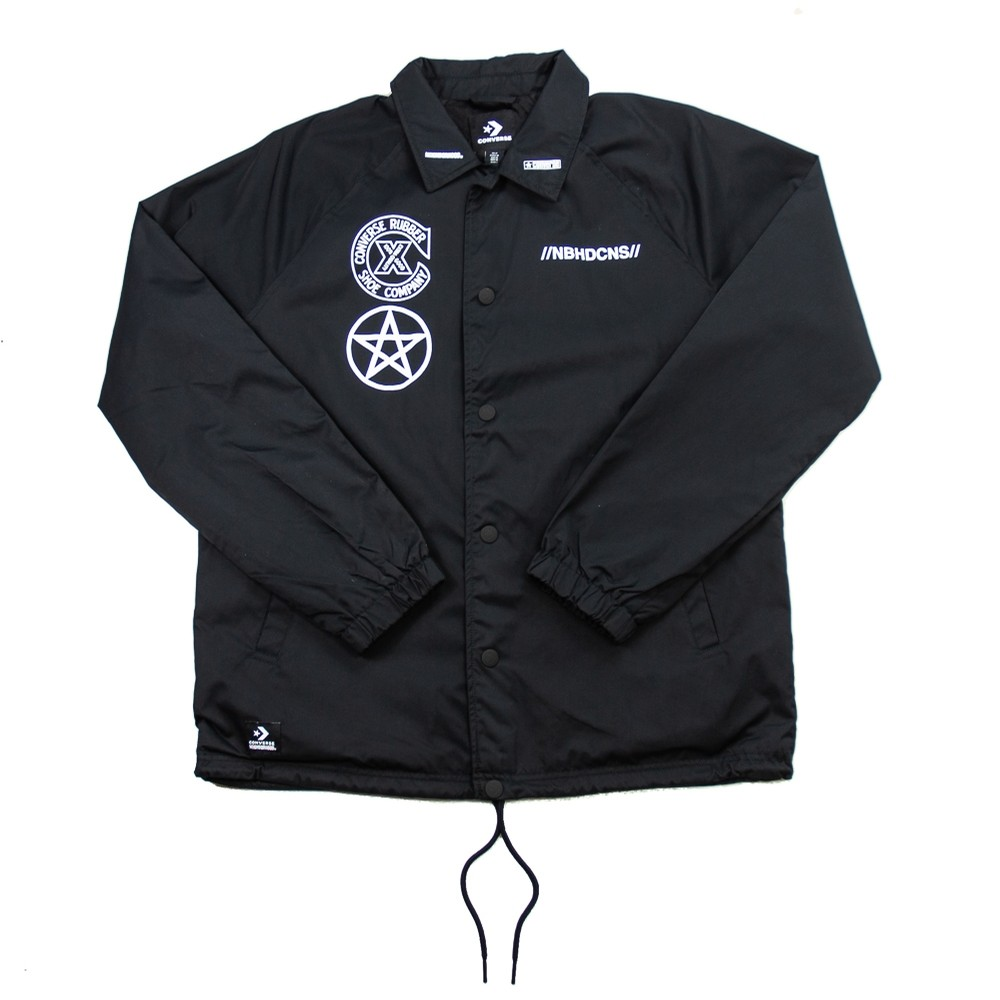 Converse x Neighborhood Coaches Jacket (Black)