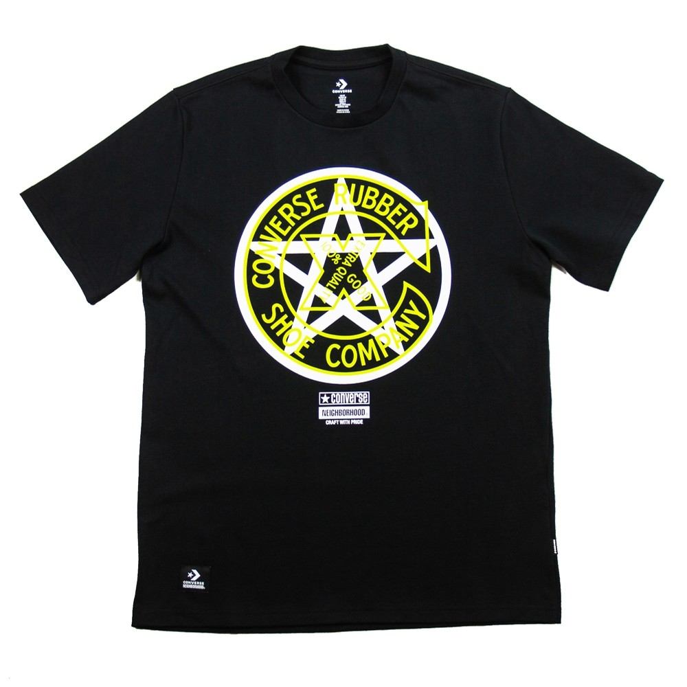 Converse x Neighborhood Tee (Black)