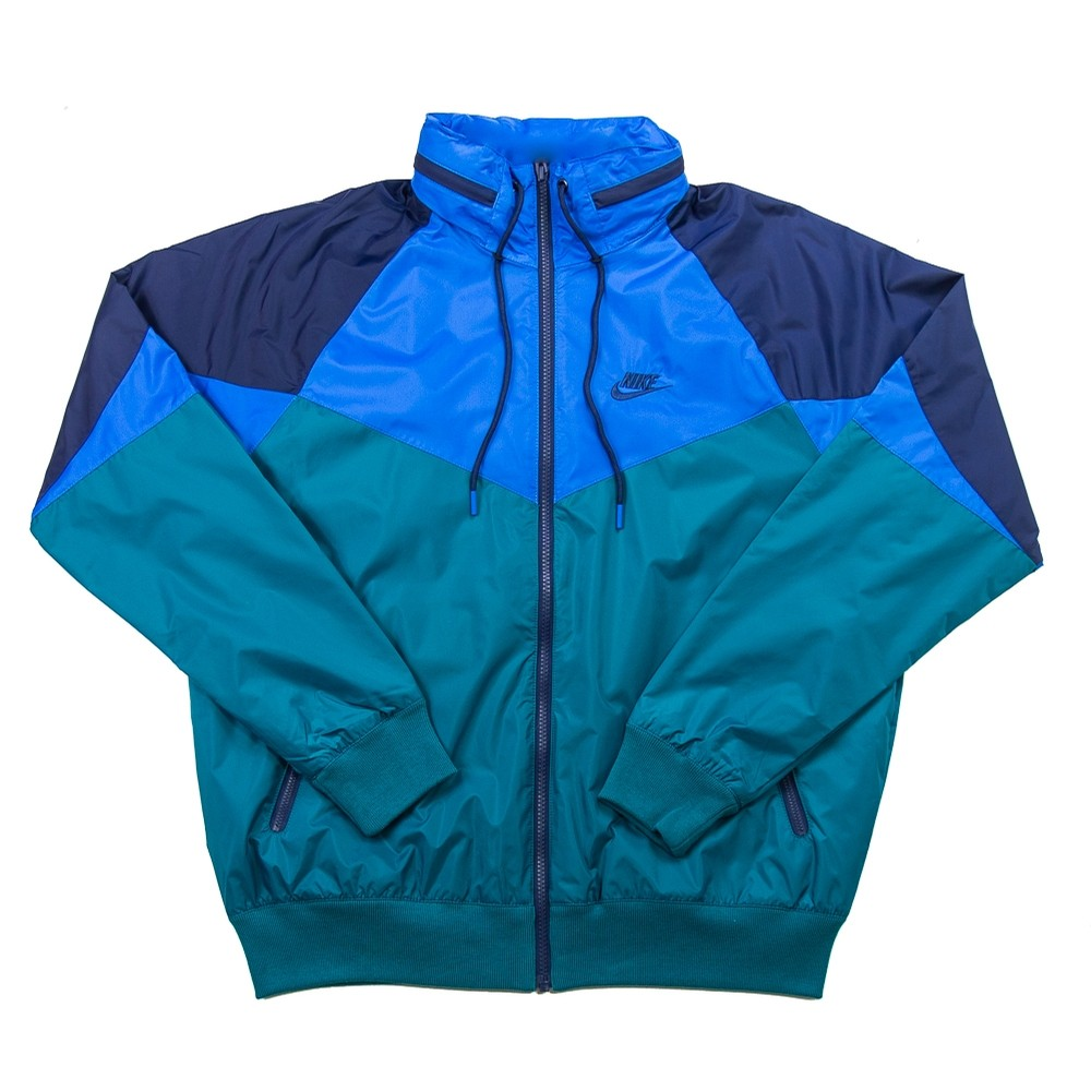 NSW Windrunner Jacket (Geode Teal/Battle Blue/Midnight Navy)