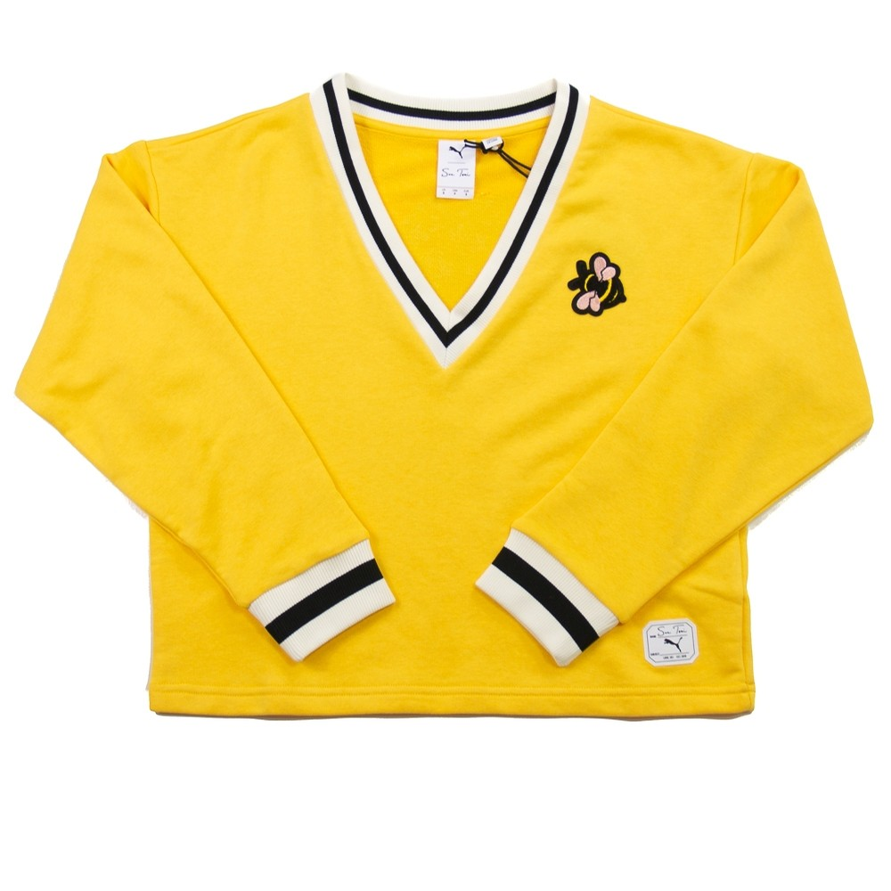 Puma x Sue Tsai V-Neck Sweater (Yellow)