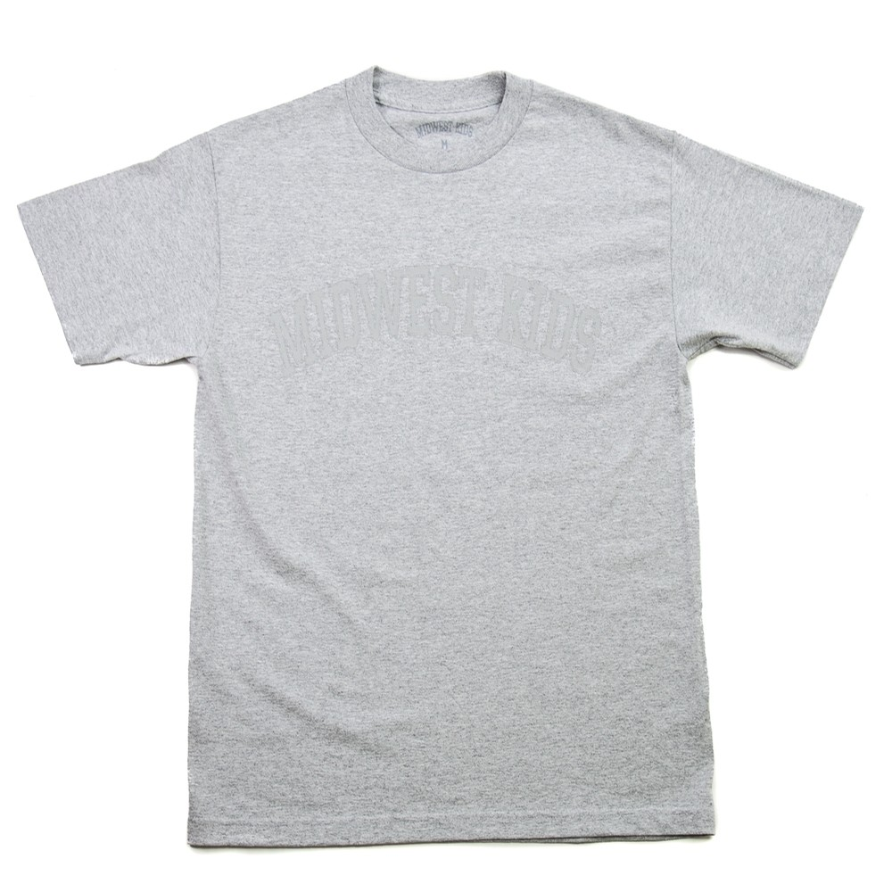 Collegiate Letters Tee (Grey)