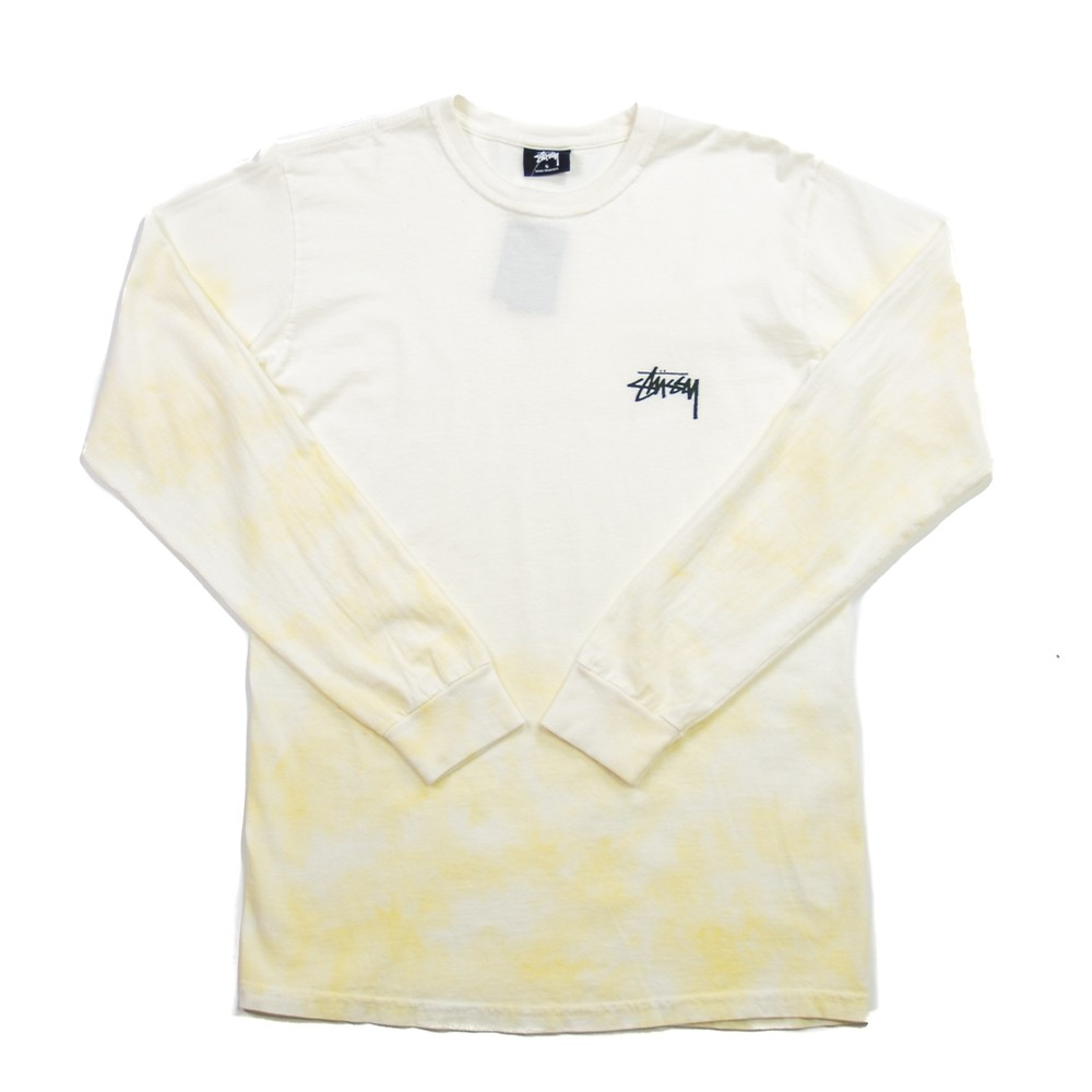 Small Stock TD LS Tee (Natural/Yellow)