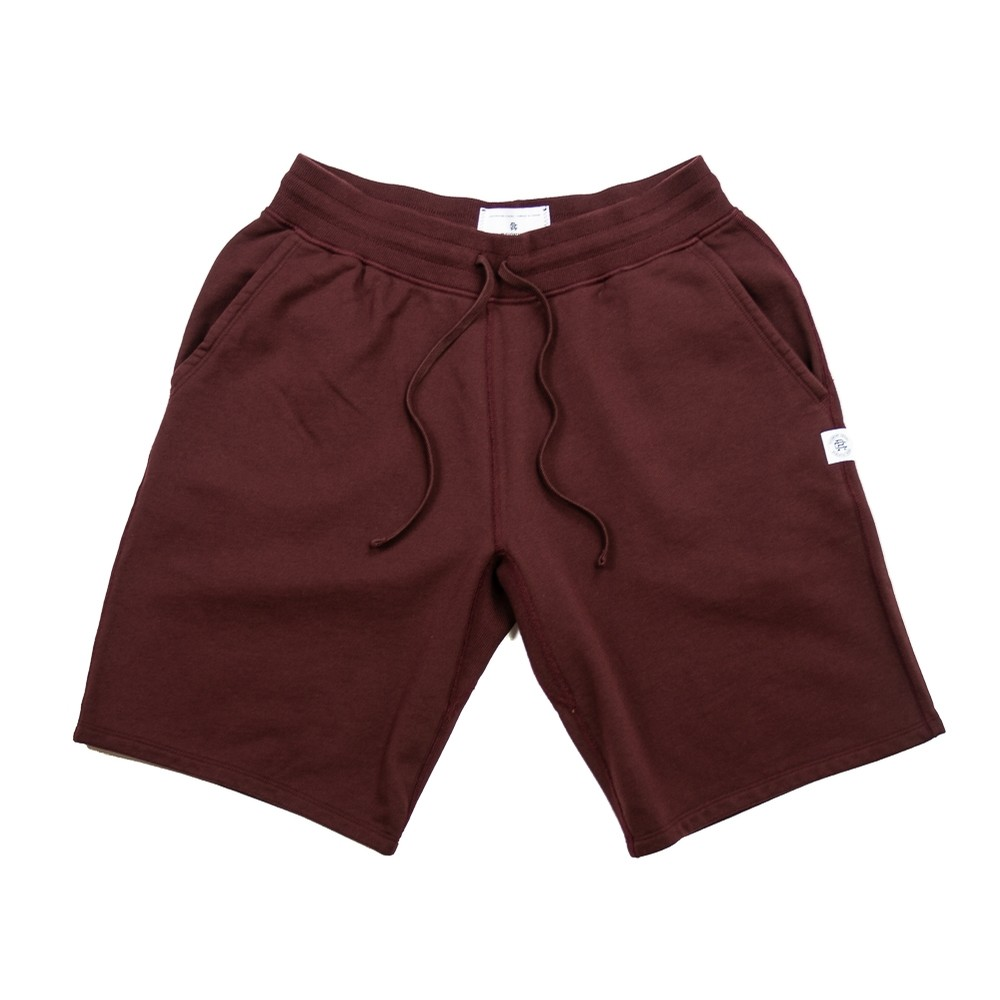 Knit Mid Wt. Terry Sweatshort (Crimson)