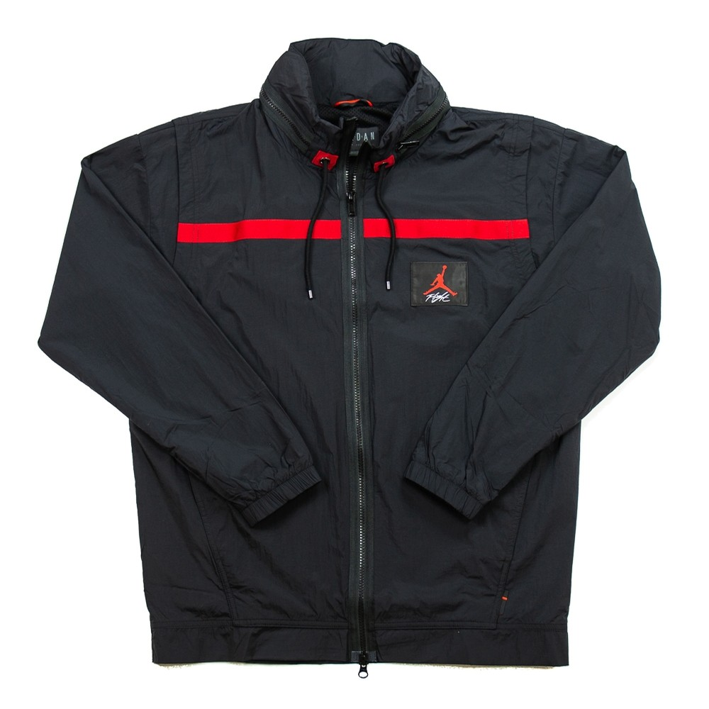 Wings of Flight Windbreaker (Black/Red)