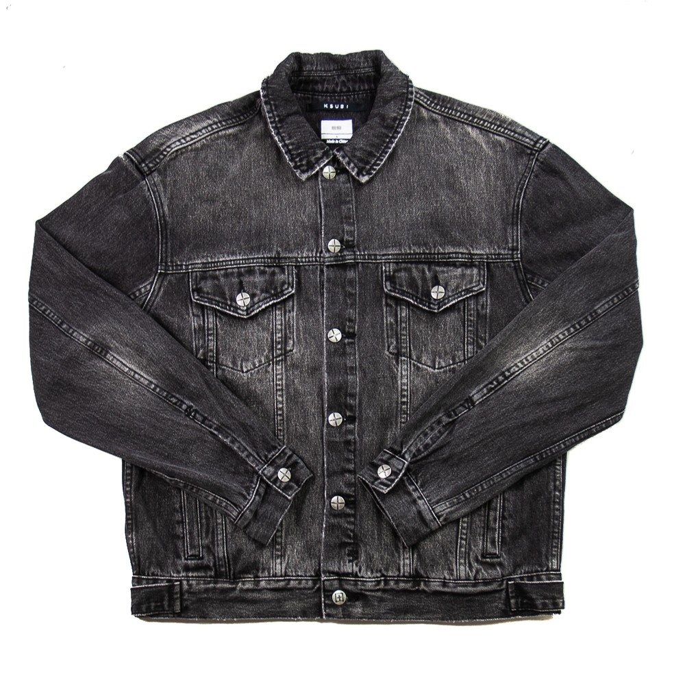 Ksubi Oh G Jacket Throwblack (Washed Black)