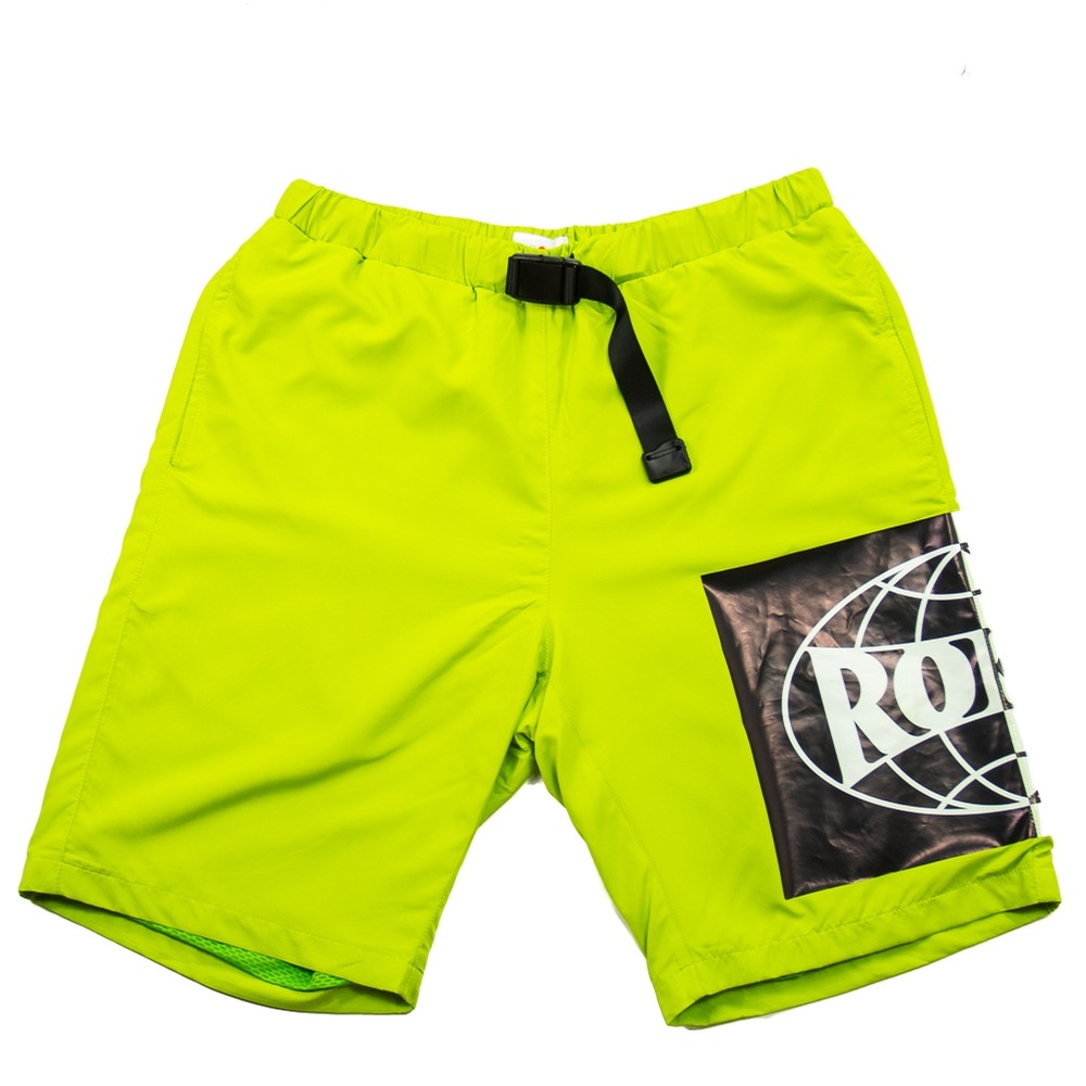 Welterweight Nylon Shorts (Yellow)