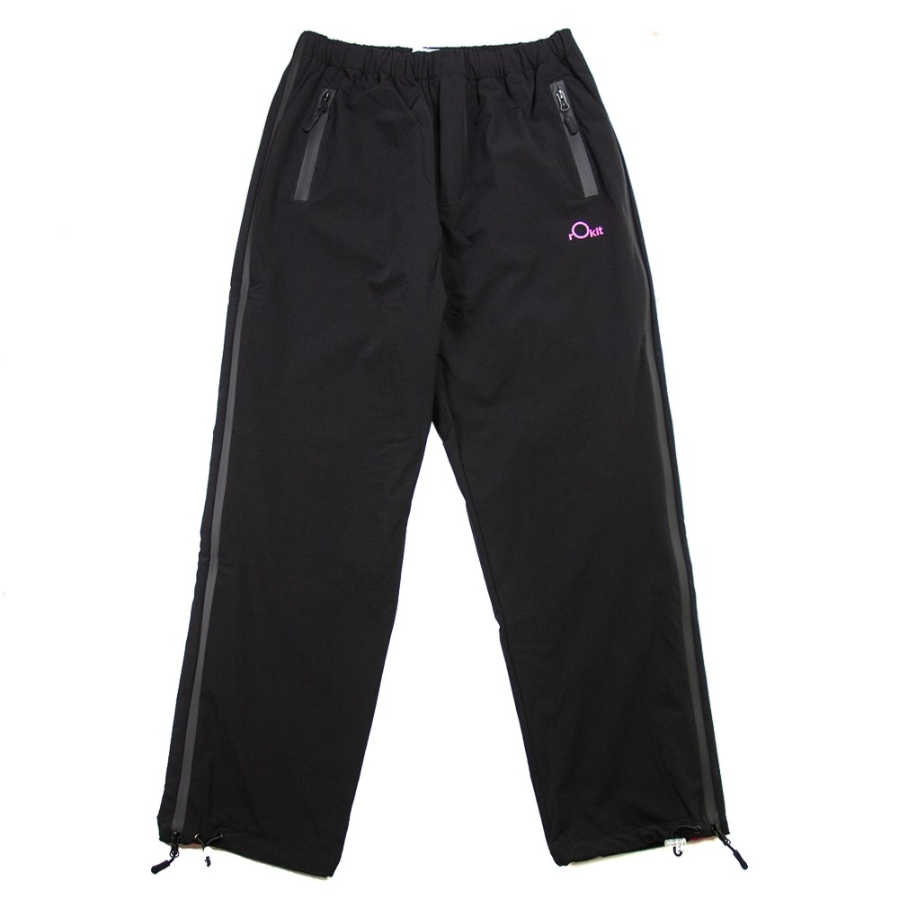 Brigade Zip Trackpants (Black)