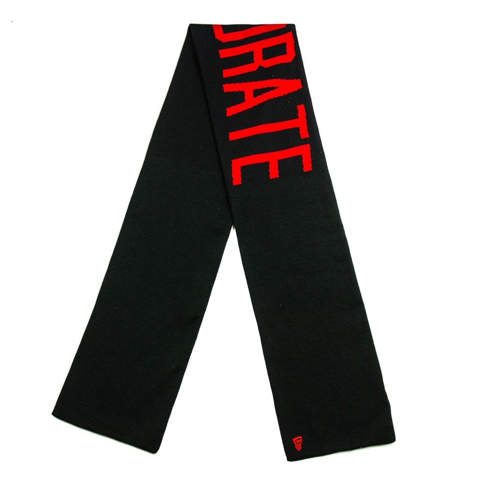 Corporate Arch Scarf (Black/Red)