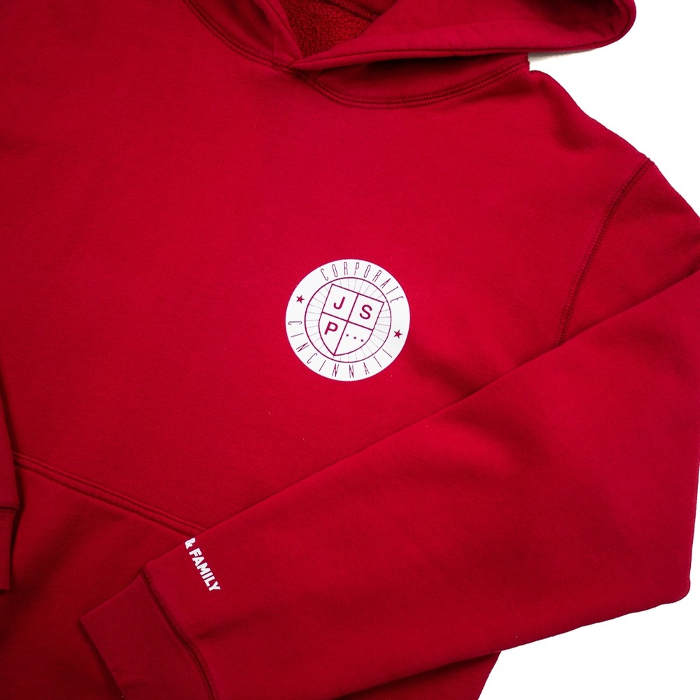 Corporate x JSP Hoody (Red)