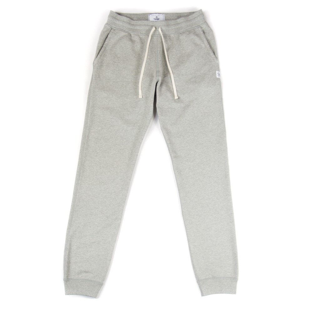 Terry Slim Sweatpant (Heather Grey)