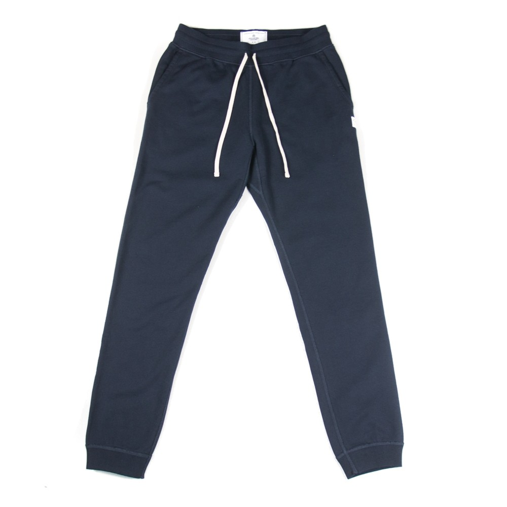Terry Slim Sweatpant (Navy)