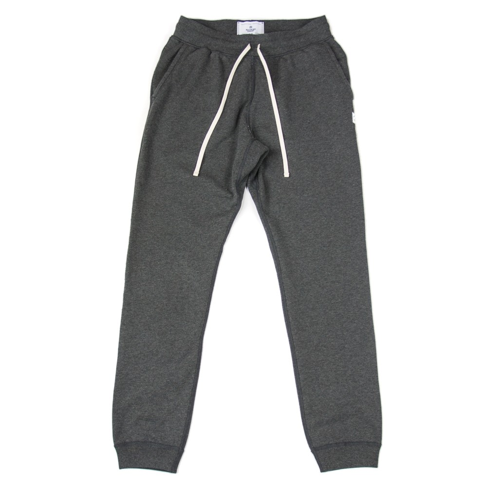 Terry Slim Sweatpant (Charcoal)