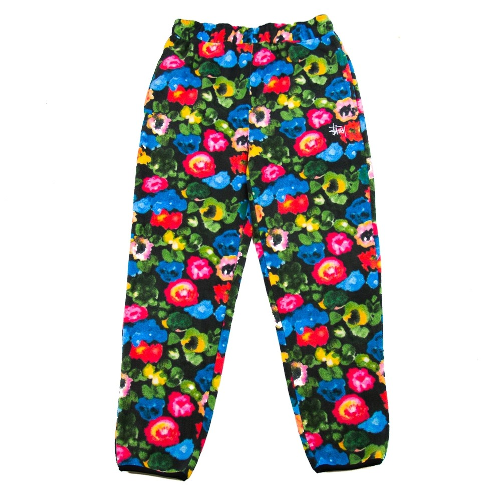 Basic Polar Fleece Pant (Floral)
