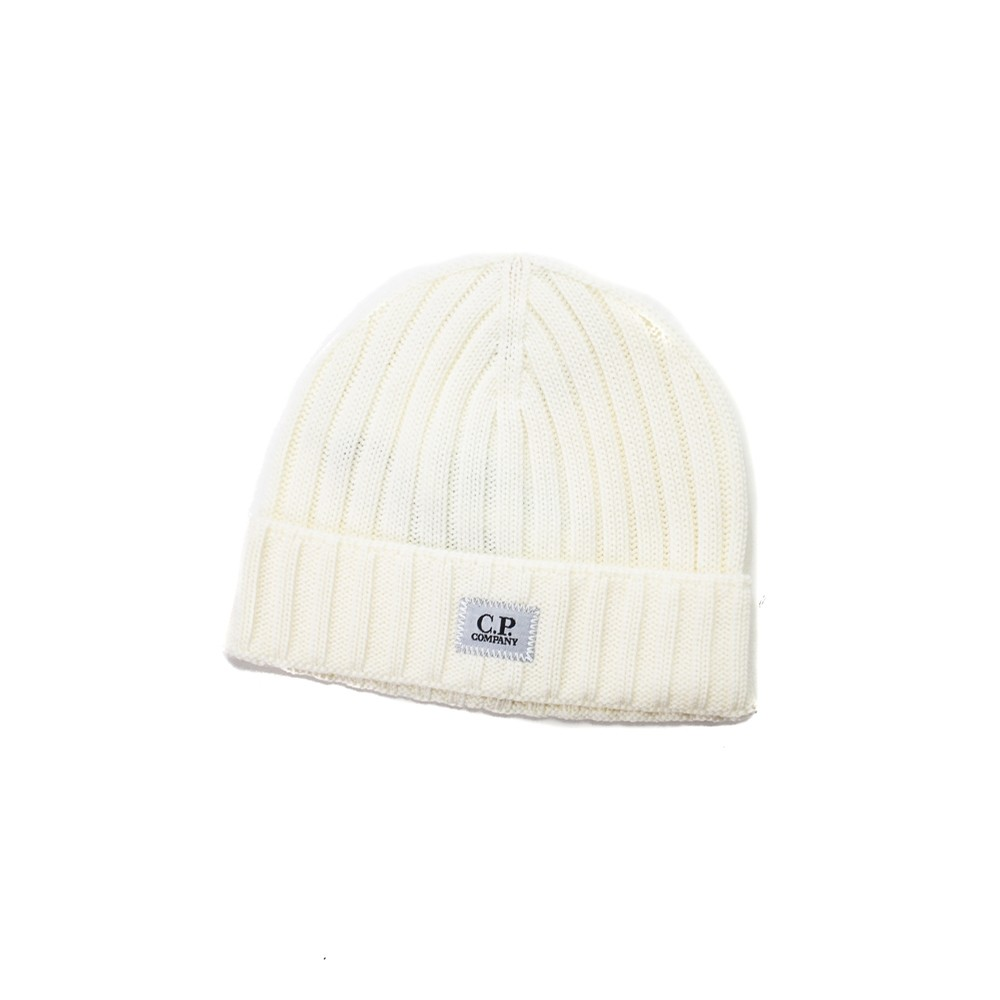 Logo Patch Beanie (Gauze White)