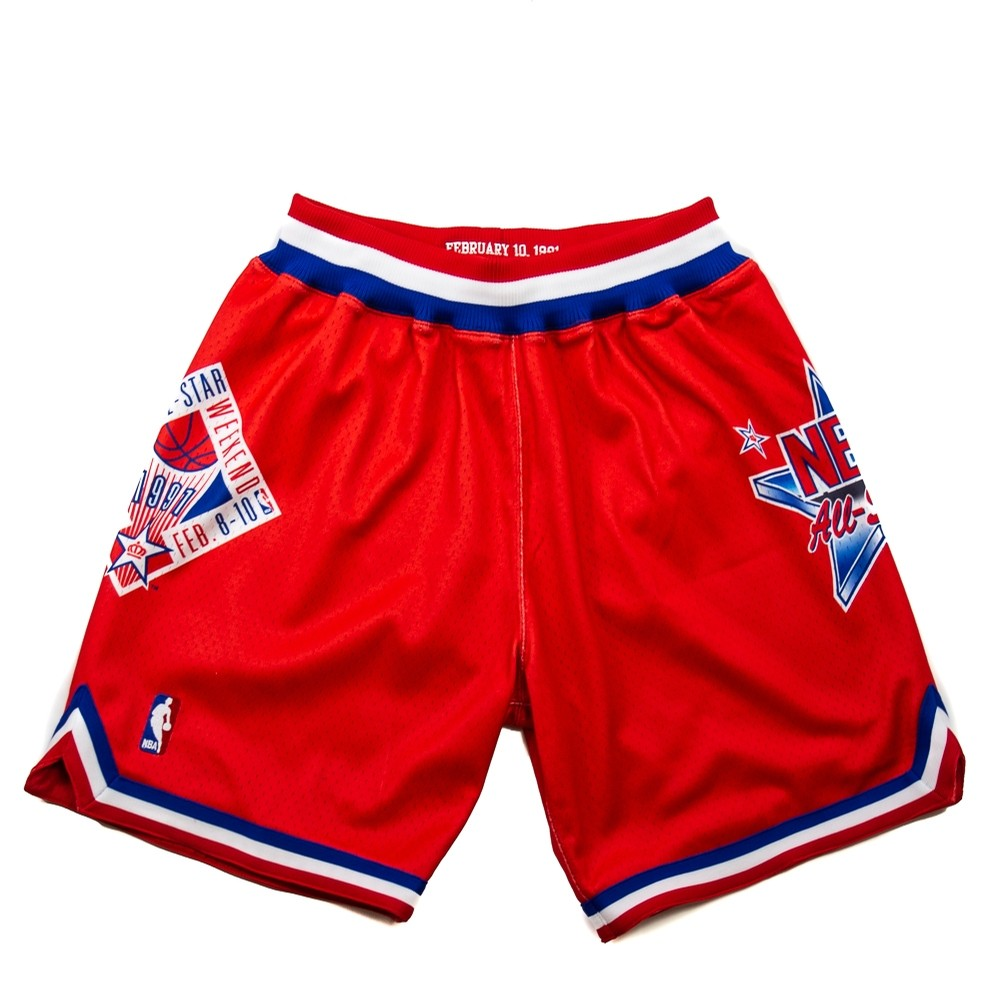 Mitchell & Ness 1991 All Star Authentic Short (Red)