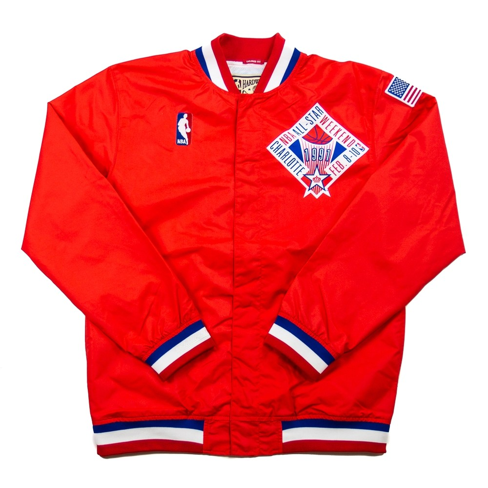 Authentic All Star 1991 Warm Up Jacket (Red)