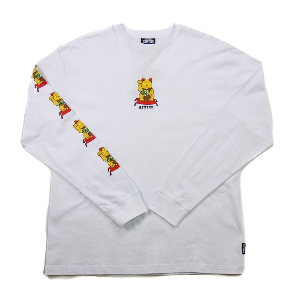 Magic LS Tee (white)