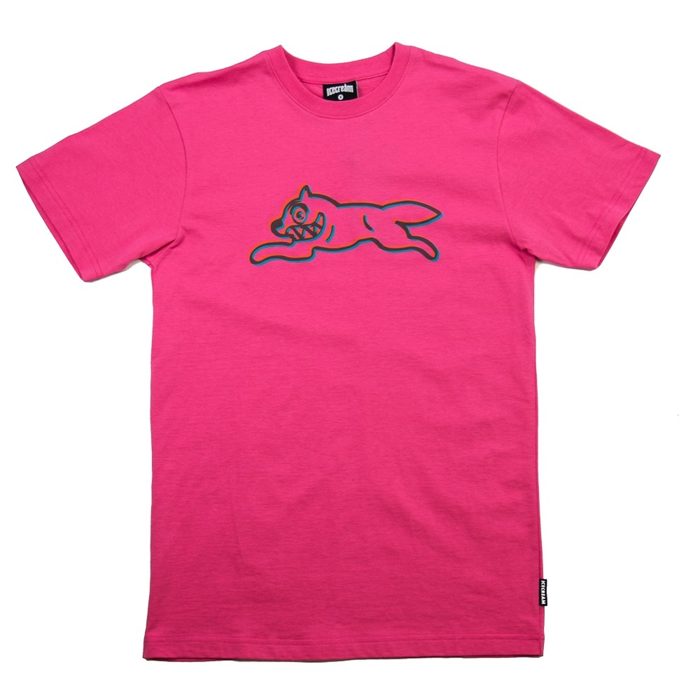 Cone SS Tee (Hot Pink)