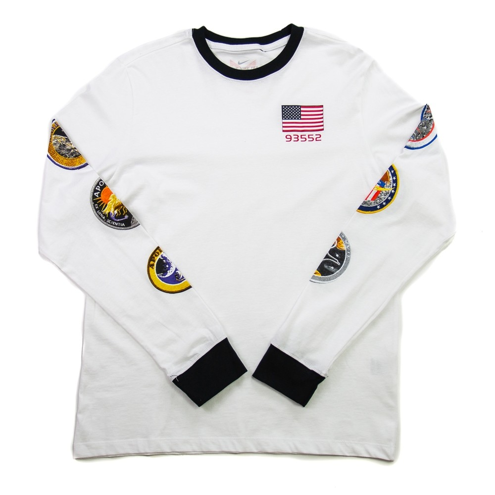 PG NASA L/S (White)