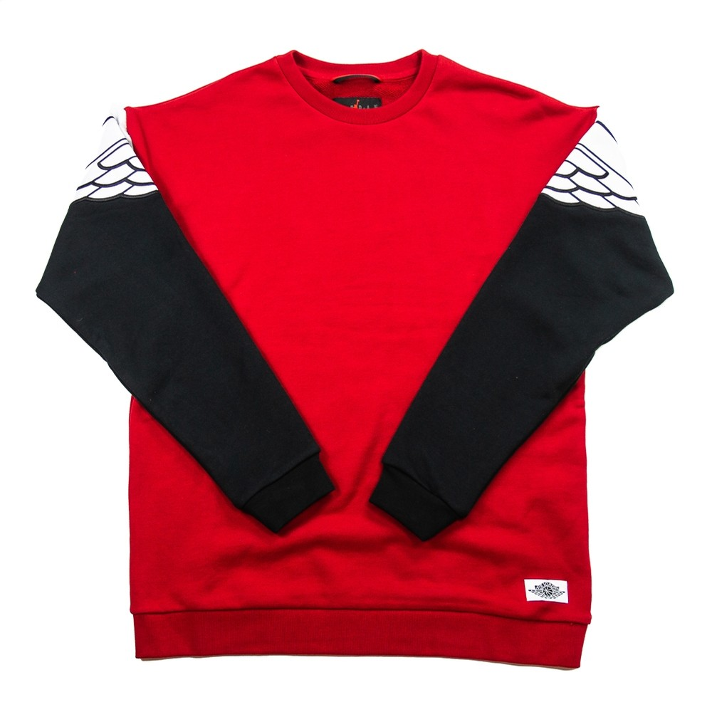 Wings Classics Crew (Gym Red/Black/White)