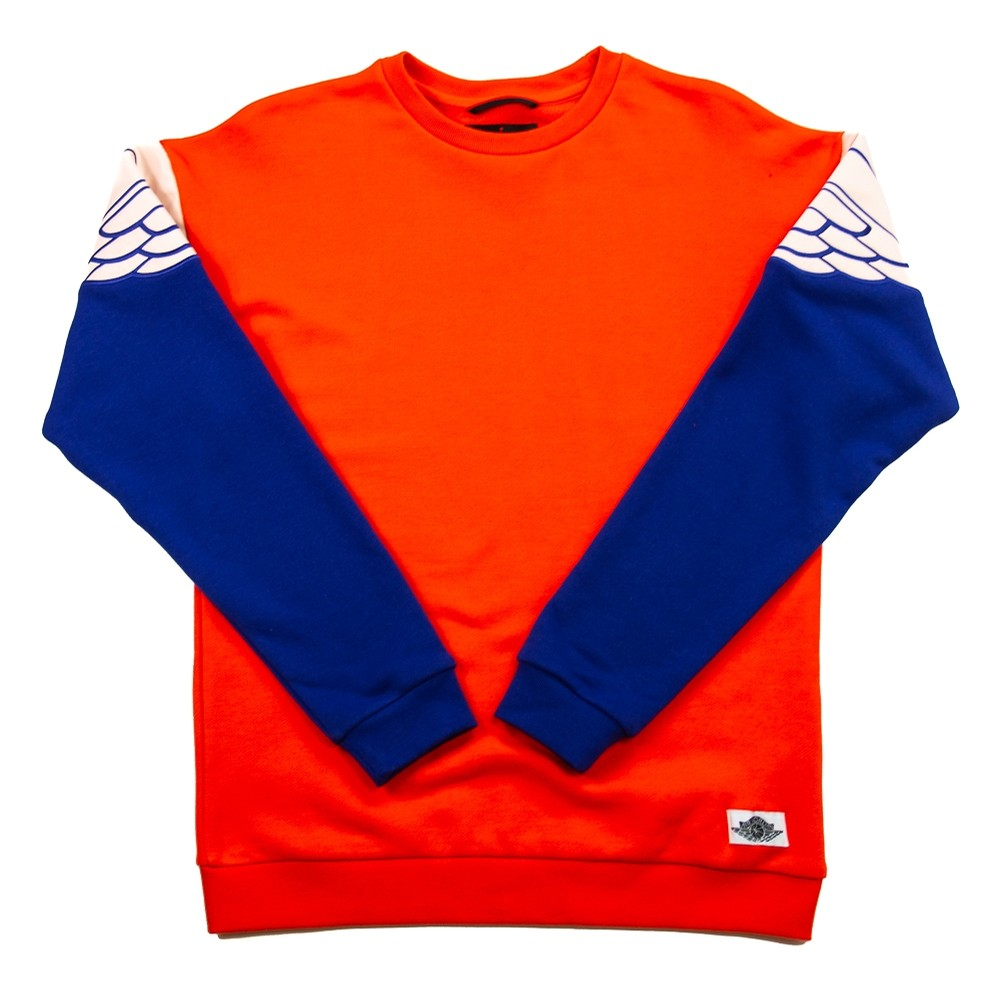 Wings Classics Crew (Team Orange/Deep Royal/Crimson Tint)