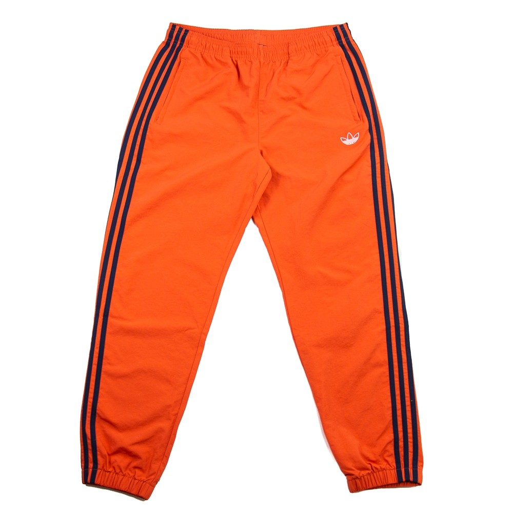 Woven 3 Stripes Pant (Raw Amber/Navy)