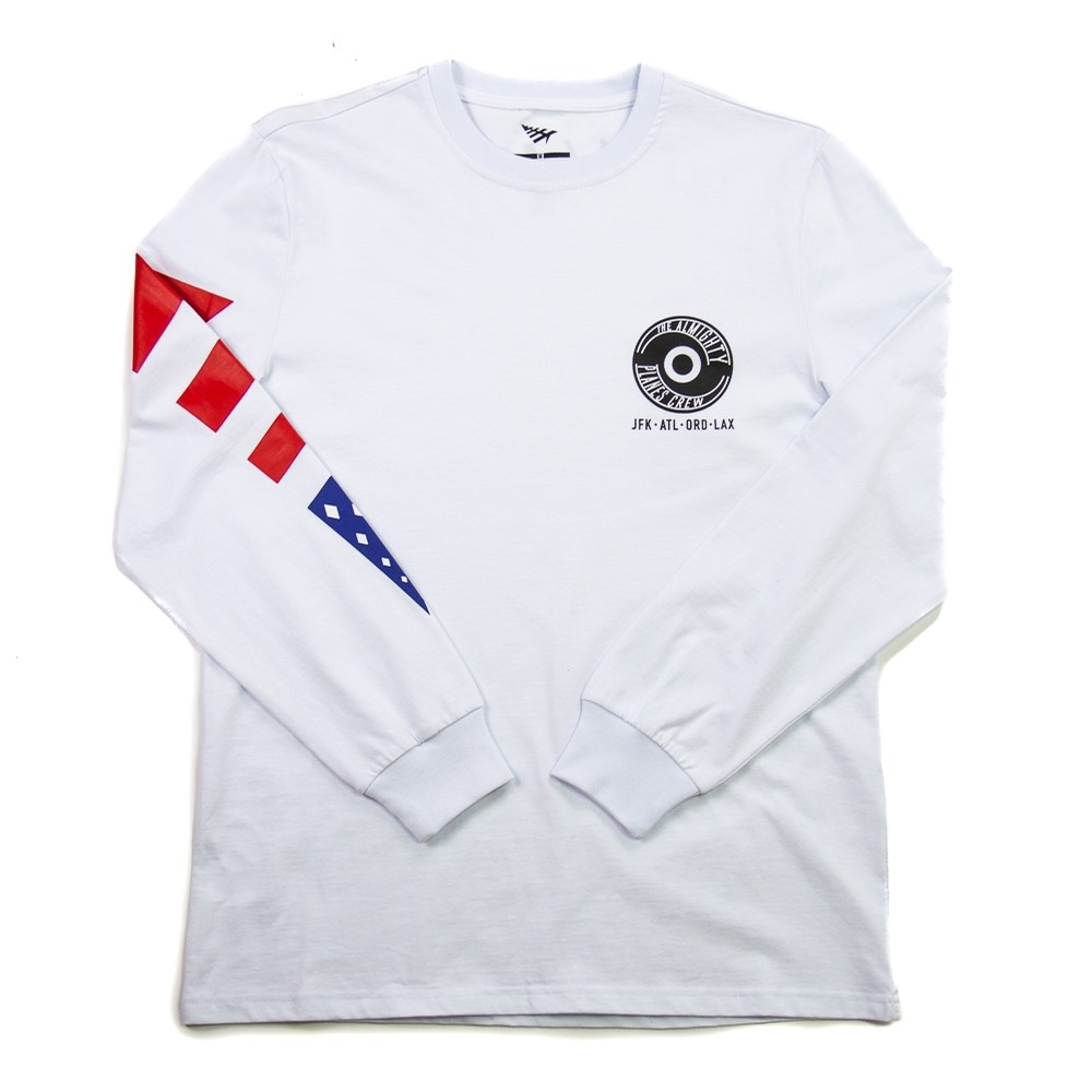 Almight L/S Tee (White)