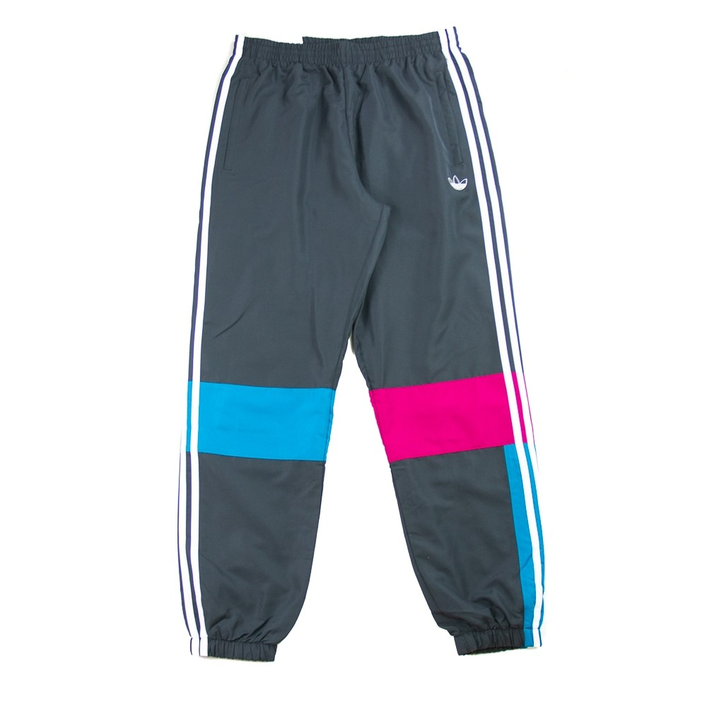 Asymm Track Pants (Berry/Active Teal/Black)