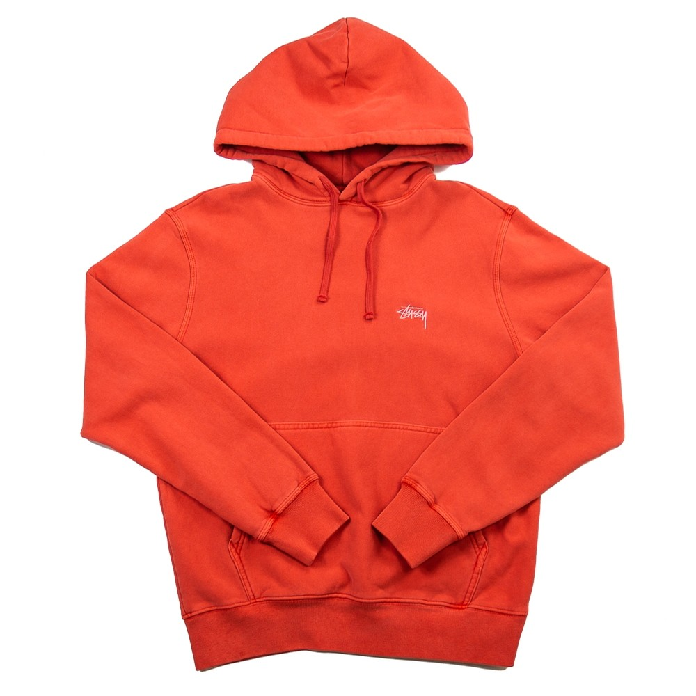 Stock Logo Hood (Red)