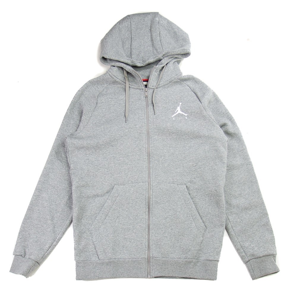 Blusao Jordan Jumpman Hoodie (Carbon Heather)