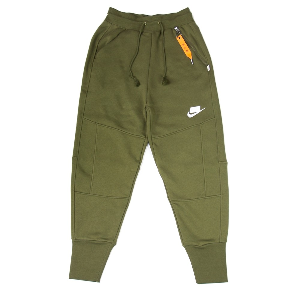 WMNS NSW Loose Fit Sweatpant (Olive/Canvas)