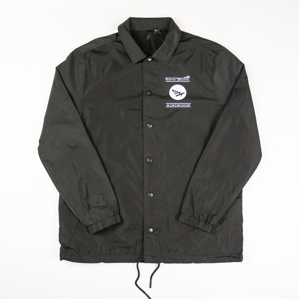 El Capitan Coaches Jacket (Black)
