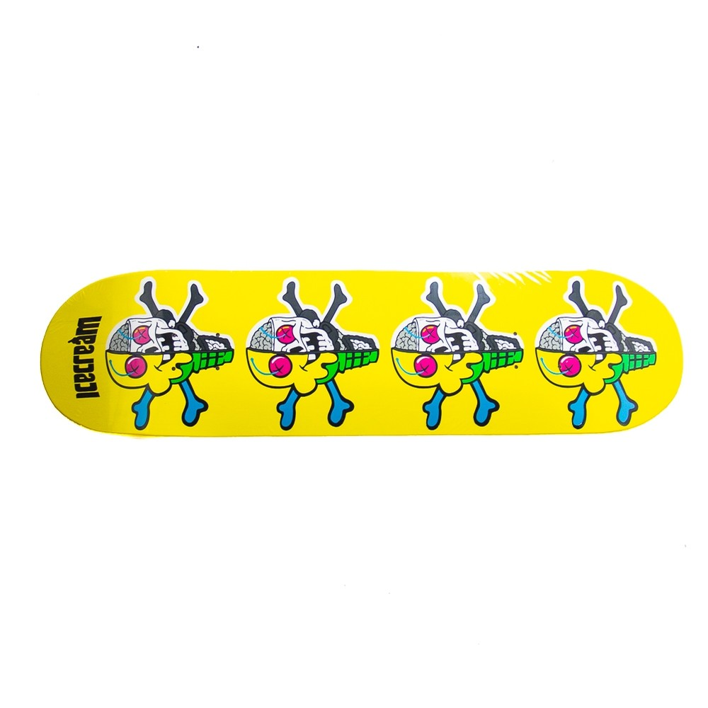Bones Skate Deck (yellow)