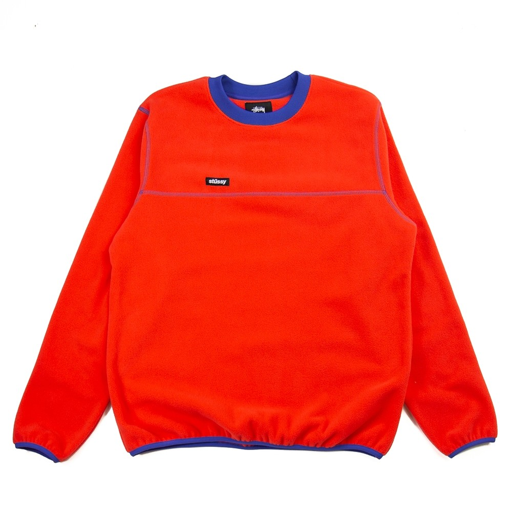Polar Fleece Crew (Red)