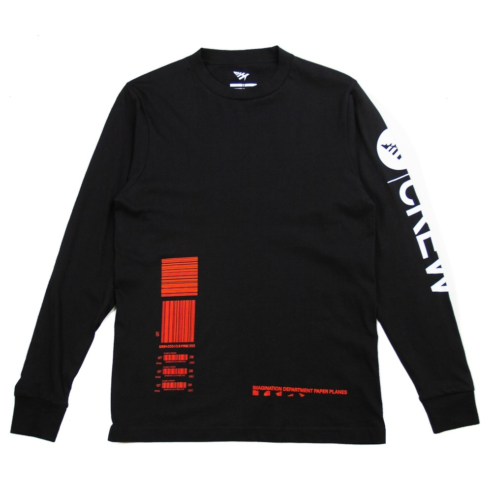 Pegasus Long Sleeve Tee (Black)