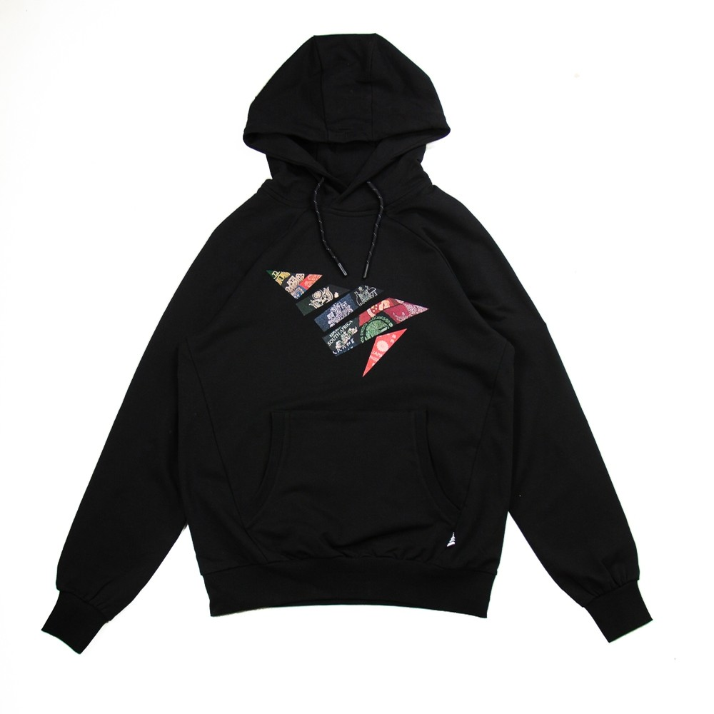Global Distortion Hoodie (Black)