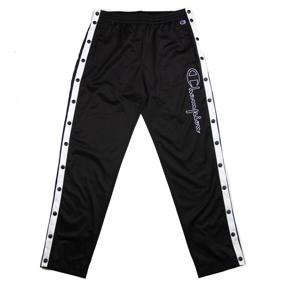 Reverse Weave Tearaway Pants (Black)