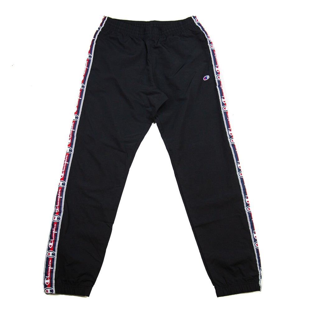 Reverse Weave Crinkle Feel Pant (Black)