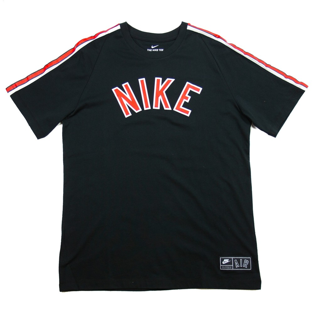 Nike Air Culture Tee (Black/University Red/Sail)