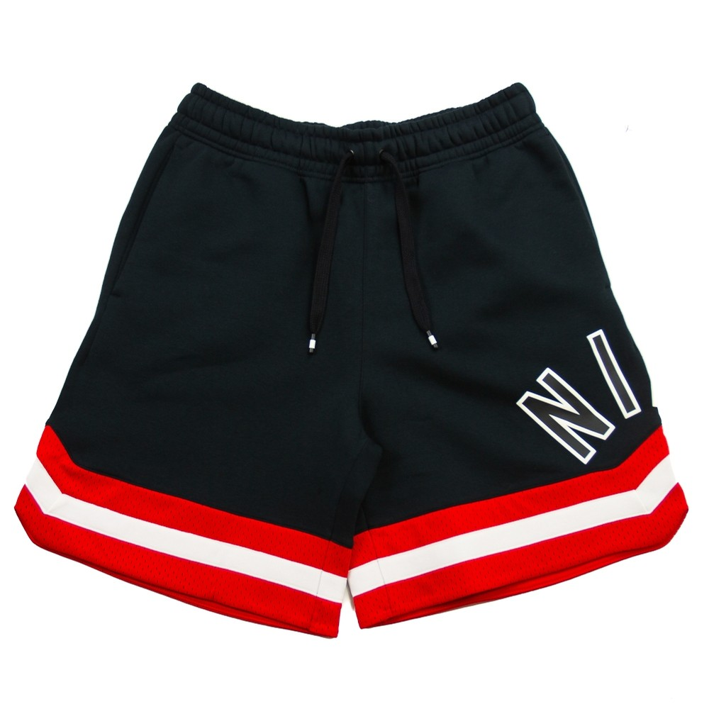NIKE Nike Air Short (Black/University Red/Sail)