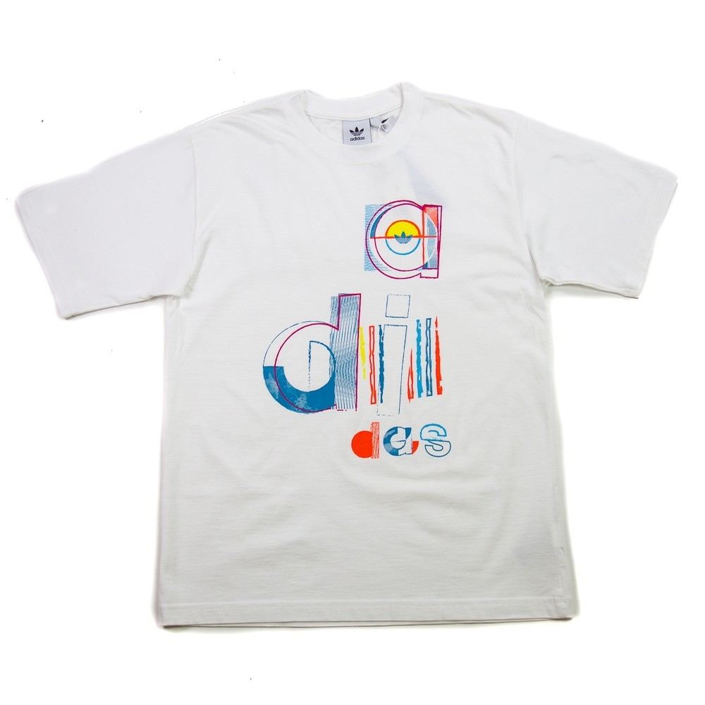 Split Adi Tee (White)
