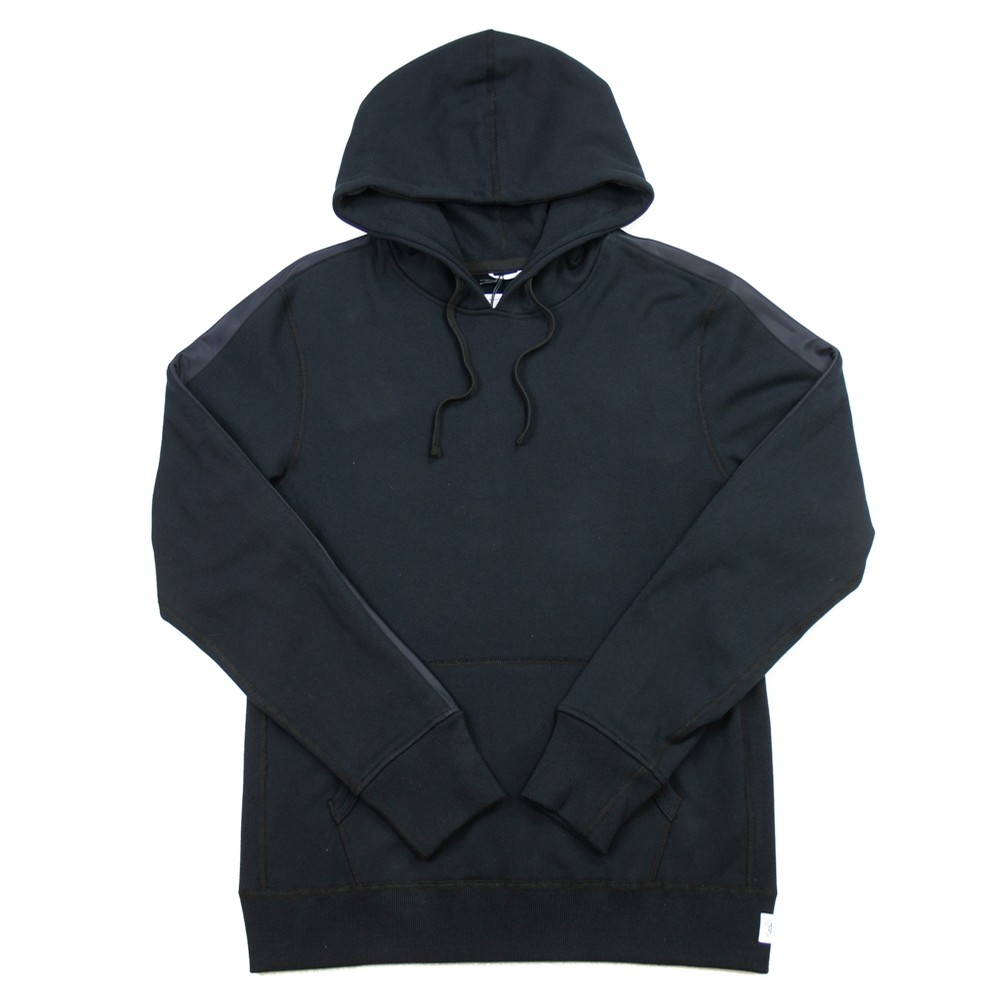Knit Midweight Terry Fight Night Pullover (Black)