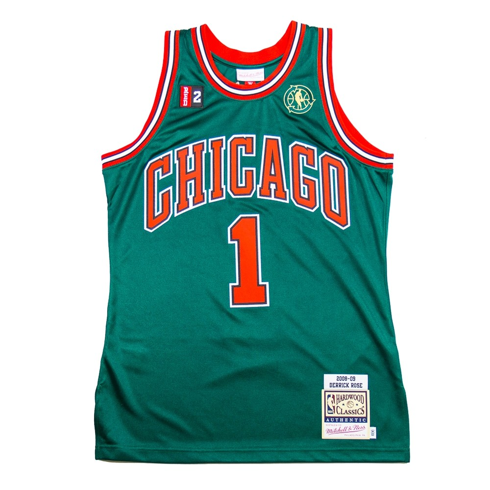 NBA Authentic Alternate Jersey Bulls 08 (Derrick Rose)