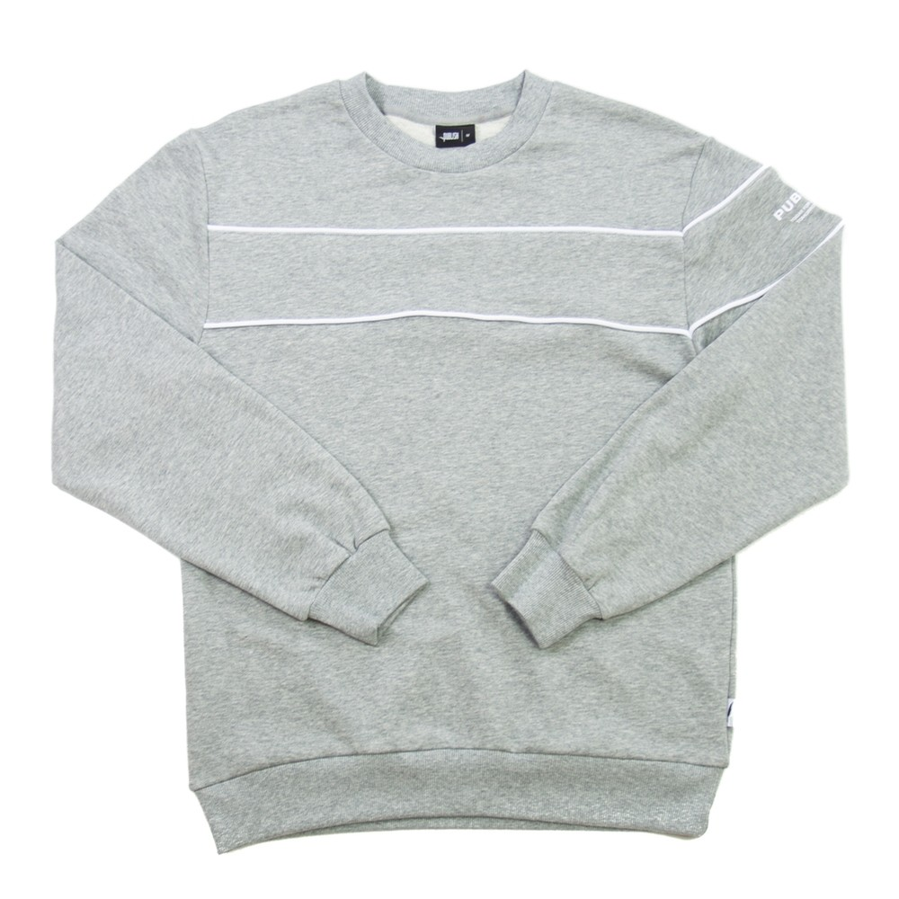 Jerome LS (Heather Grey)