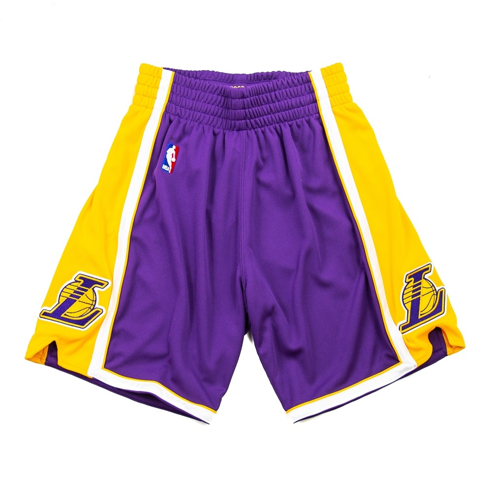 08-09 Los Angeles Lakers Authentic Short (Away)