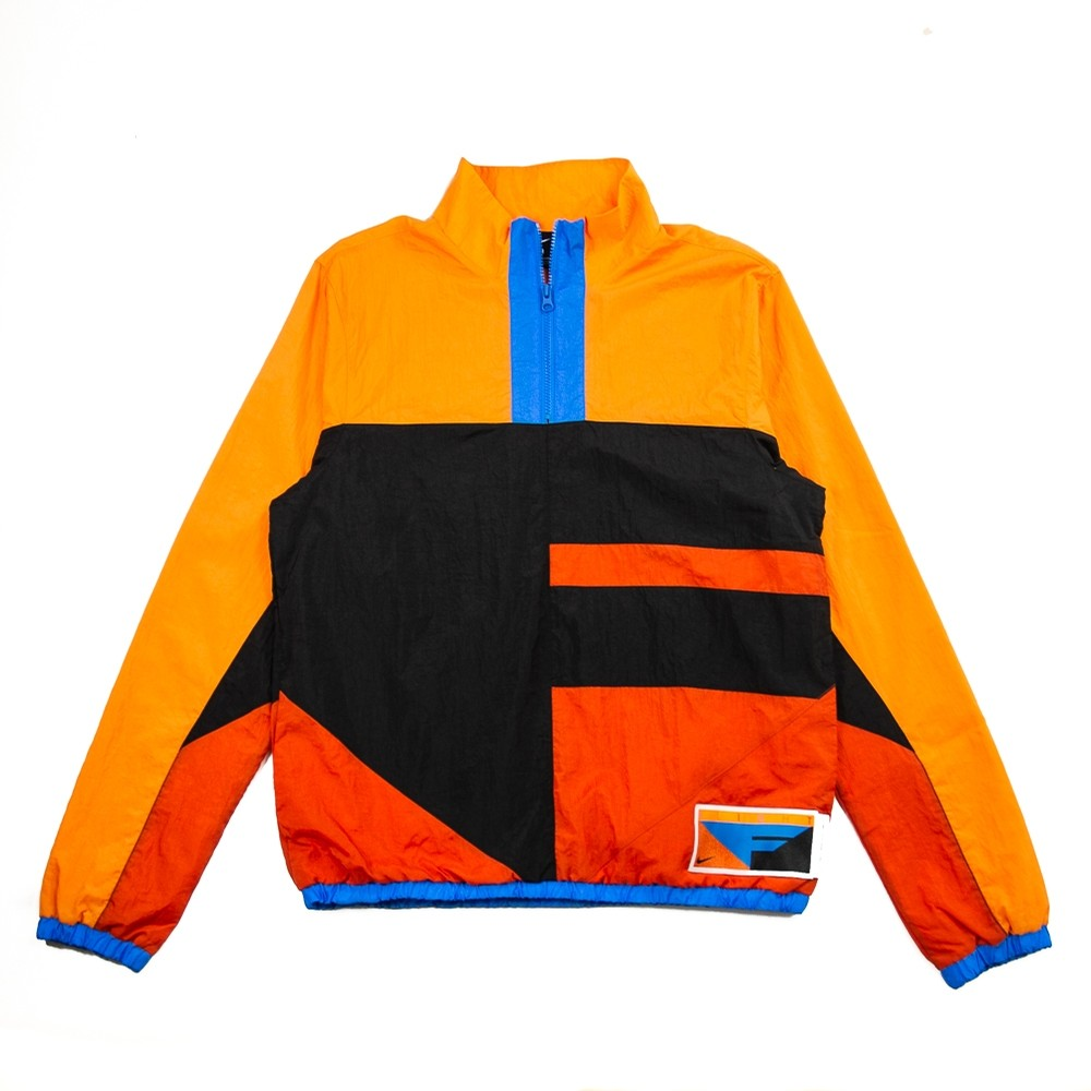 Nike Flight Basketball Jacket (Black/Alpha Orange/Rust Factor)