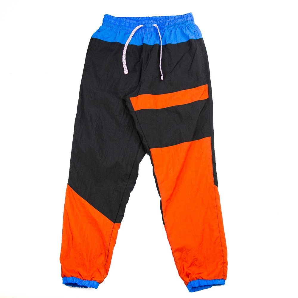 Nike Flight Basketball Pant (Black/Alpha Orange/Rust Factor)